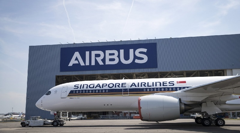 Airbus A350 XWB ULTRA LONG RANGE singapore airlines