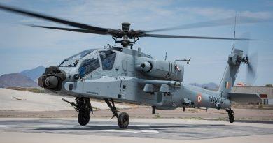 Spazio-News Magazine Boeing Elicottero AH-64E Apache India Air Force