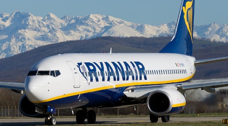 Spazio-News.it Ryanair B737-800