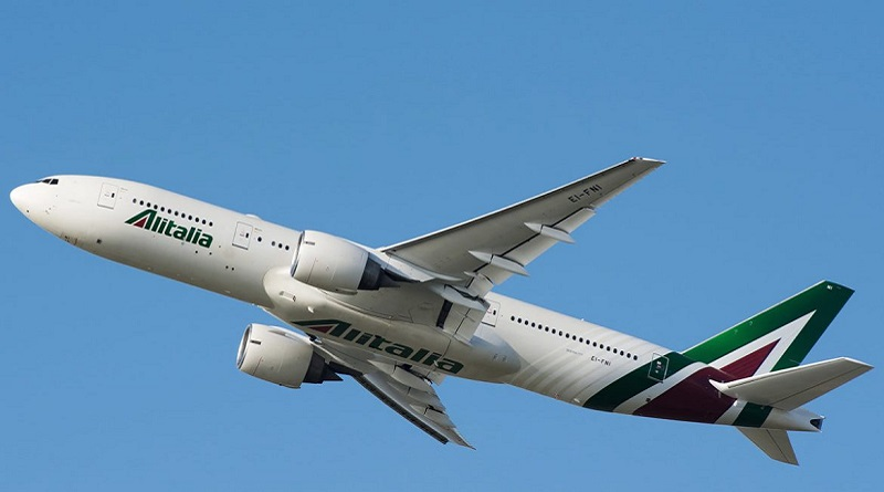 Spazio-News.it - Alitalia B777 800 x 445