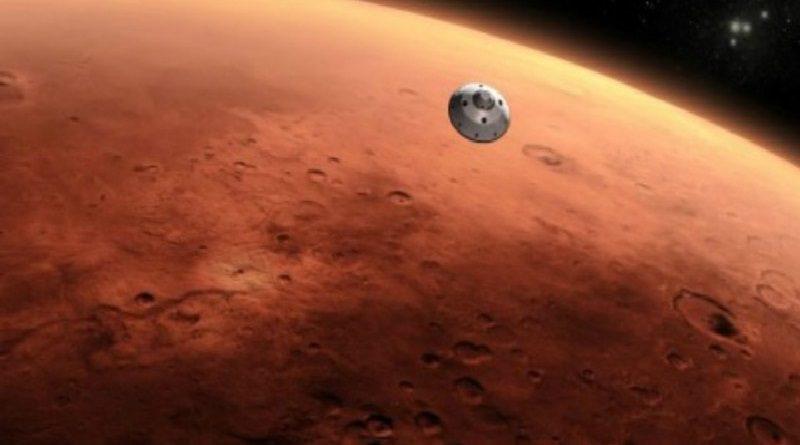 Spazio-News.it -Mars 2020 ricerca spaziale sonda capsula