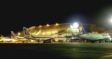 Spazio-News.it -Roma Fiumicino piazzola aerei Alitalia