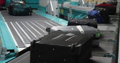 Spazio news.it Aeroporto Smistamento bagagli Cross belt
