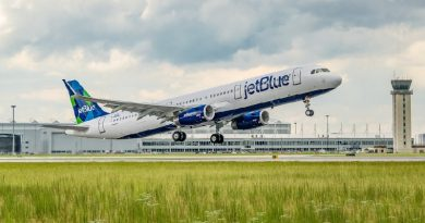 Airbus A321 JetBlue Green