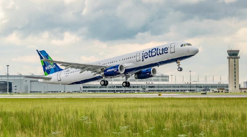Airbus A321 JetBlue Green