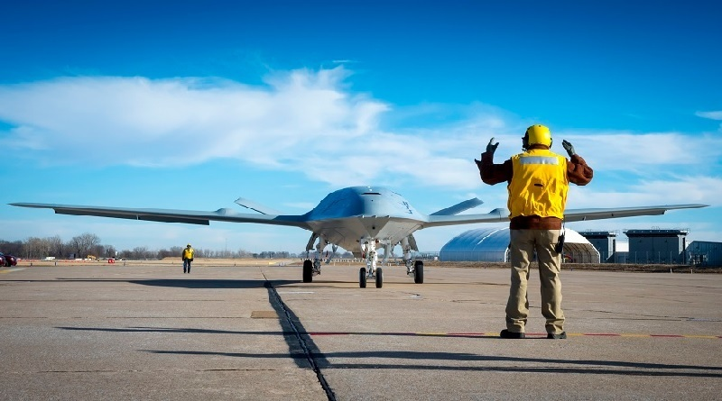 Boeing MQ-25 aerial refueler US Navy Spazio-news.it