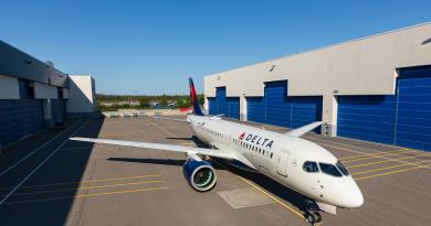 Delta Airbus A220-100 Industria Spazio-news.it Magazine
