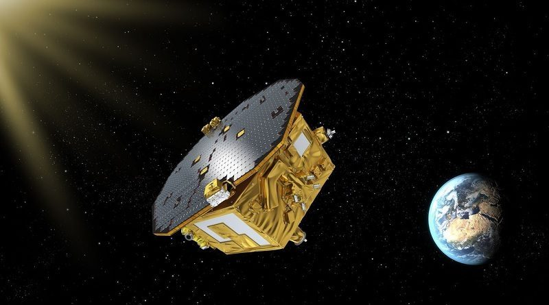 Laser Interferometer Space Antenna - LISA Pathfinder Spazio-news.it