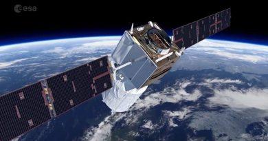Satellite Aeolus ESA Spazio-news.it