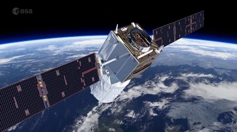 Satellite Aeolus ESA Spazio-news.it
