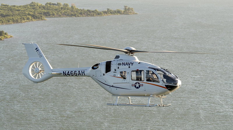 Airbus Helicopters H135 USA NAVY Spazio-News.it