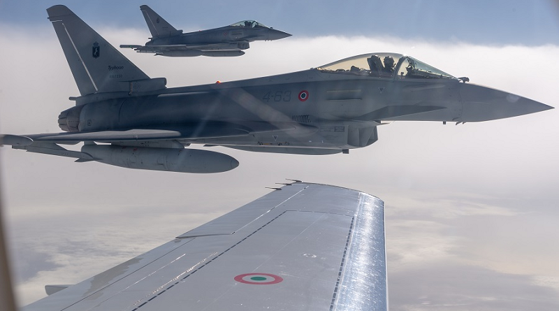 Difesa AMI caccia Eurofighter del 4° Stormo di Grosseto(2)