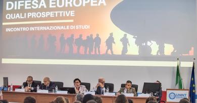 Difesa EuropeA quali prospettive Università degli Studi Internazionali di Roma - UNINT