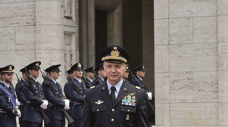 Generale di Squadra Aerea Vecciarelli Capo di Stato Maggiore della Difesa