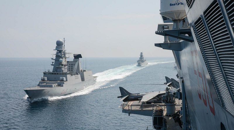 Marina Militare Cavour e FREMM