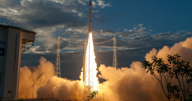 Vega Avio Razzo Vettore Satellite Spazio