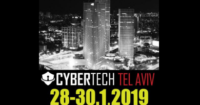 Cybertech Tel Aviv - 28-30.1.2019 Media Partner Spazio-news.it