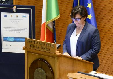 Elisabetta Trenta al CASD - Centro Alti Studi per la Difesa_Spazio-news