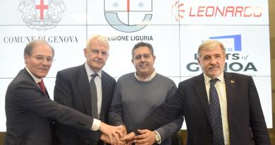 Leonardo_accordo Liguria_Toti Profumo_Spazio-News