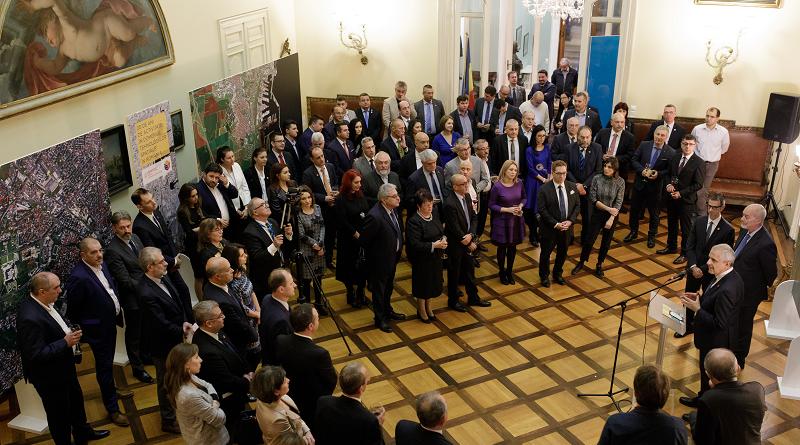 Telespazio 20 anni Romania Bucarest RARTEL RADIOCOM - Societatea Națională de Radiocomunicații