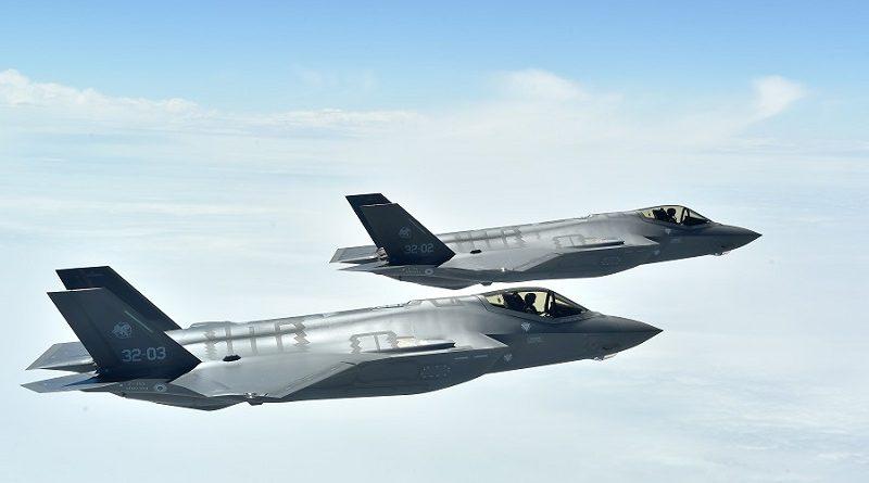 aeronautica militare coppia F-35 italia