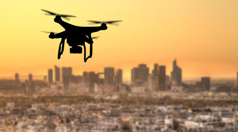 Drone city città DJI spazio-news.it