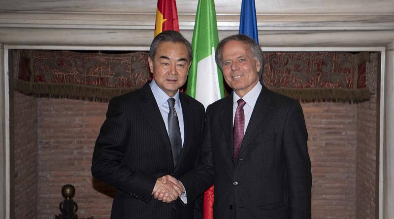 IX RIUNIONE DEL COMITATO GOVERNATIVO ITALIA-CINA