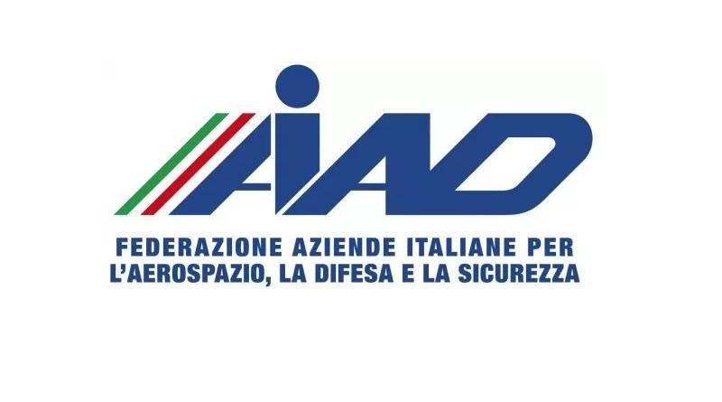 Logo AIAD - Aziende Italiane per l'Aerospazio, la Difesa e la Sicurezza