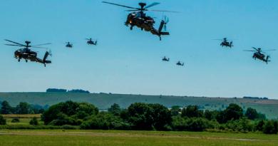 Ministero della Difesa UK Leonardo elicotteri Apache AH Mk 1 Royal Air Force Spazio-News.it