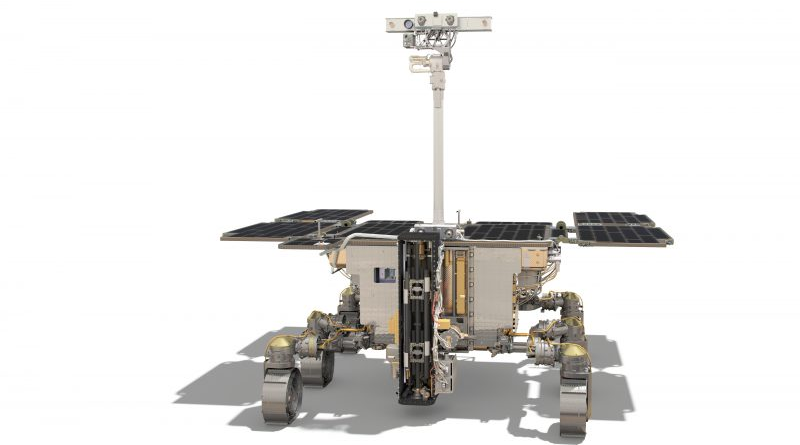 ESA Rosalind Franklin rover ExoMars 2020 Spazio-News.it