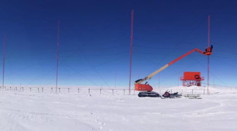 Radar Dome C North - Dcn Dome C East - Dce Stazione Ricerca Concordia. Istituto Nazionale di AstroFisica - Inaf Cnr Antartide