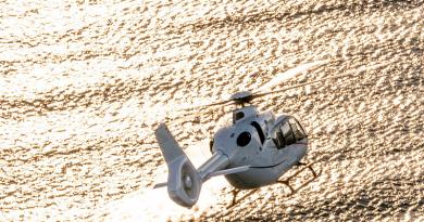 elicottero leggero bimotore Airbus H135