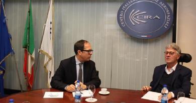 CIRA Console generale di Francia Laurent Burin des Roziers Presidente Paolo Annunziato Napoli