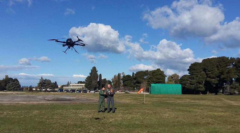 CdE APR Amendola 32 stormo Colibri IA-3 IDS Ingegneria dei Sistemi Spa Drone UAV Aeronautica Militare