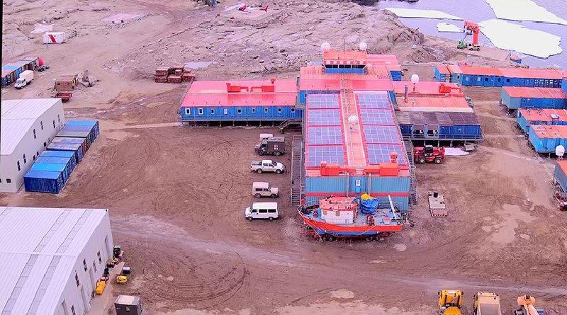 "ENEA CNR base italiana ""Mario Zucchelli"" in Antartide"