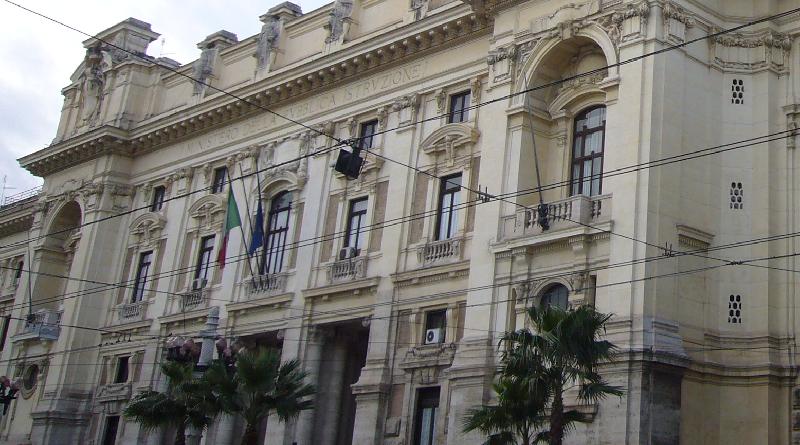Miur Ministro dell'Istruzione, dell'Università e della Ricerca Roma Palazzo