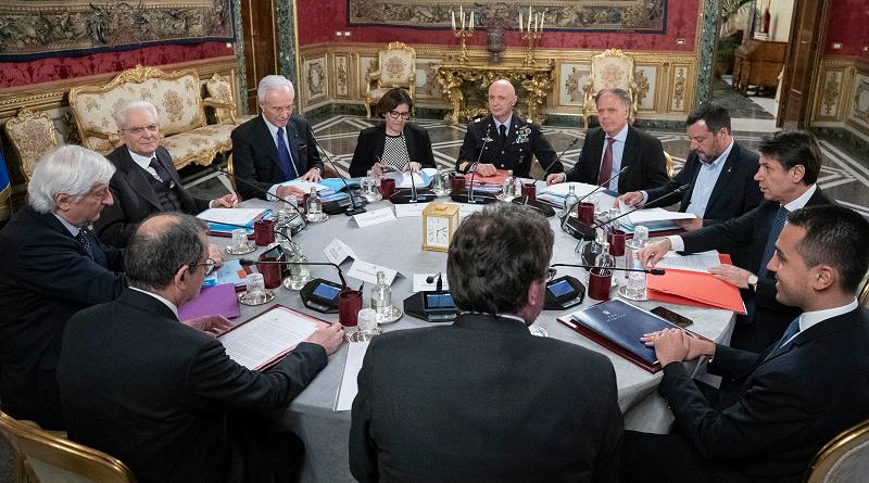 Riunione del Consiglio Supremo di Difesa