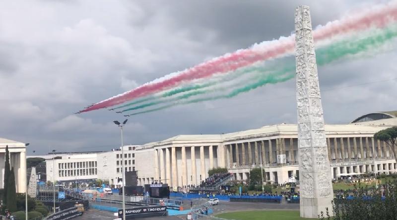 Roma Formula E Aeronautica Militare Frecce Tricolori 2019