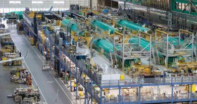 Lavoro Boeing B-797 produzione Motore Industria