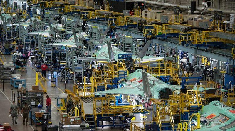 Lavoro F-35 produzione Motore Industria