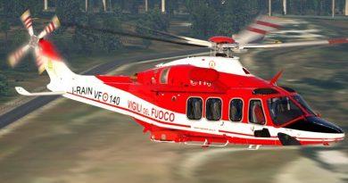 Leonardo elicottero AW-139 Vigili del Fuoco