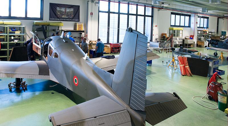 OMA – Officine Aeronautiche Meccaniche Foligno aereo S-208M