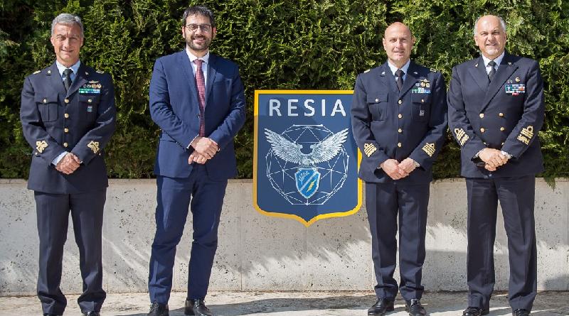 Tofalo al Reparto Sistemi Informativi Automatizzati - ReSIA Aeronautica Militare