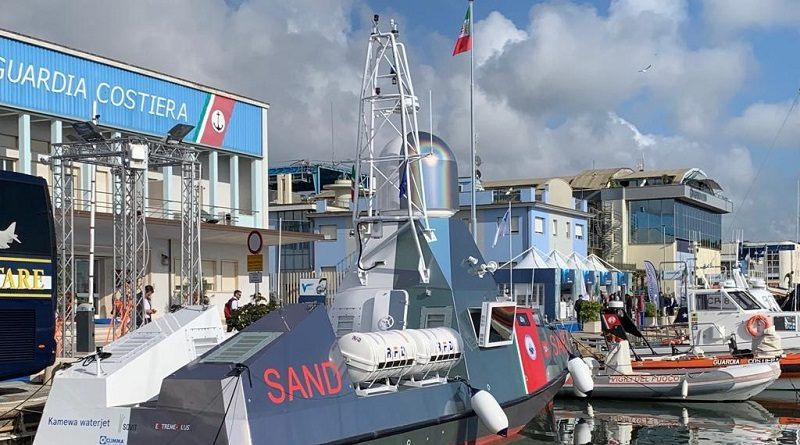 SAND Drone - IDS Ingegneria Dei Sistemi Effebi Meccano Navigo Salone Versilia Yachting Rendez-vous - VYR