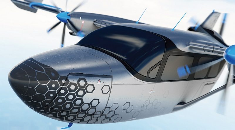 Cassio VoltAero hybrid-electric propulsion system