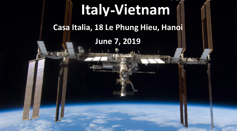 "Italy-Vietnam workshop ""Italy and Vietnam perspectives and elements for cooperation in the space sector"""