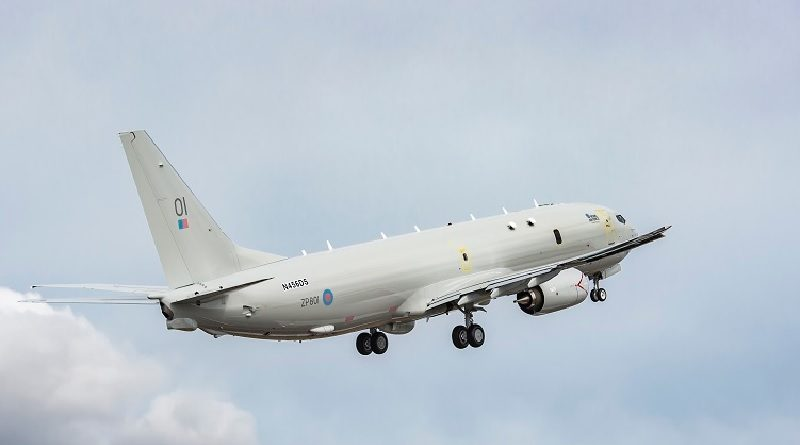 Boeing P-8A Poseidon United Kingdom Defence