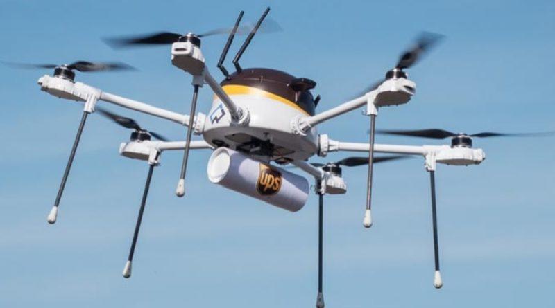 Drone UPS Flight Forward Inc. Spedizioni pacchi posta