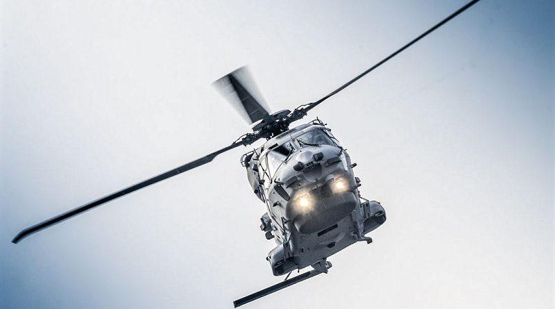 Elicottero NH90 Sea Lion di Airbus