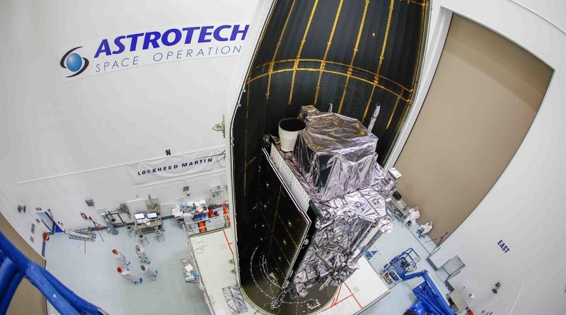 Lockheed Martin GPS III satellite nick-named Magellan by the U.S. Air Force